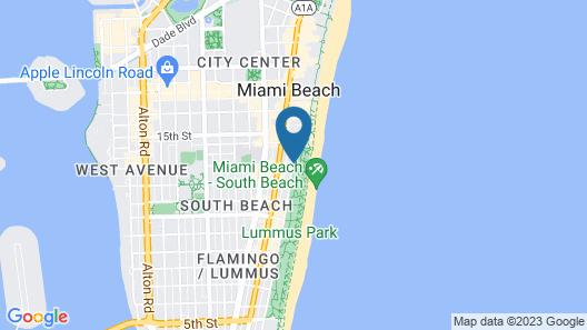 Marriott Vacation Club Pulse, South Beach Map