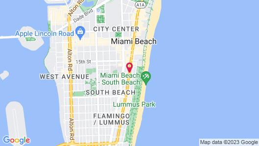 South Beach Plaza Villas Map