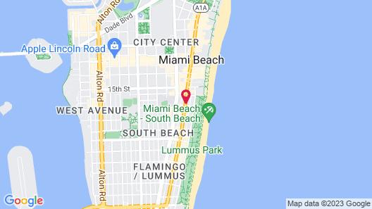 Nassau Suite Hotel Map