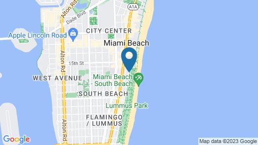Crescent Resort On South Beach by Diamond Resorts Map