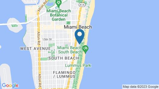 Hilton Grand Vacations at Mcalpin-ocean Plaza Map