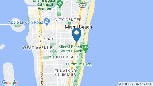 Island House South Beach Map