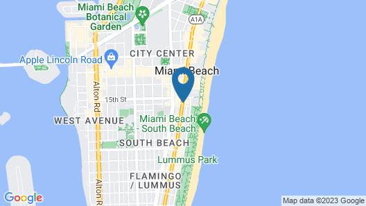 Z Ocean Hotel South Beach Map