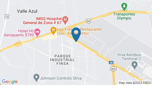 Best Western Premier Monterrey Aeropuerto Map