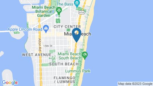 Royal Palm South Beach Miami, a Tribute Portfolio Resort Map