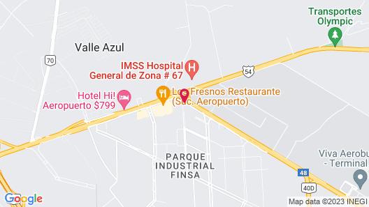 CHN Hotel Monterrey Aeropuerto, Trademark by Wyndham Map