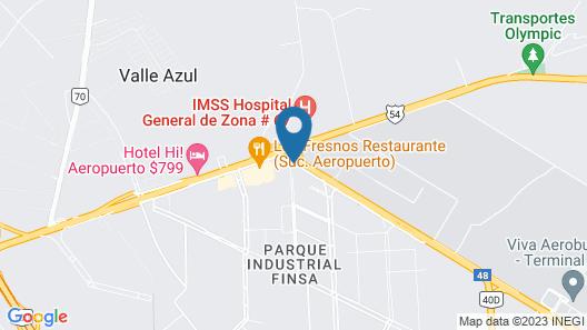 La Quinta by Wyndham Monterrey Aeropuerto Map