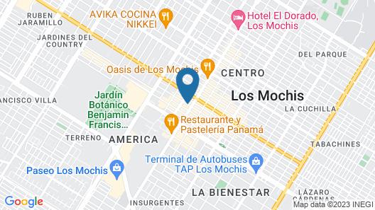 Hotel Santa Anita Map