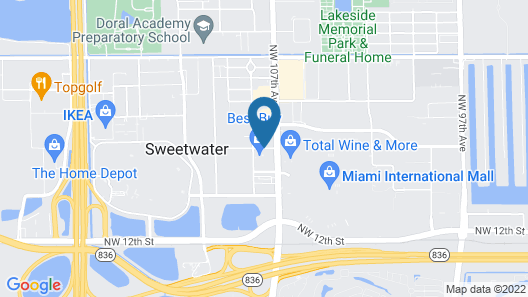 Nuvo Suites Hotel Map