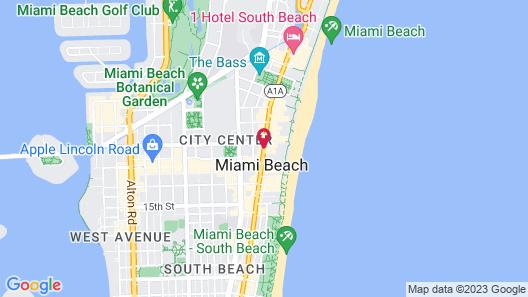 San Juan Hotel Map