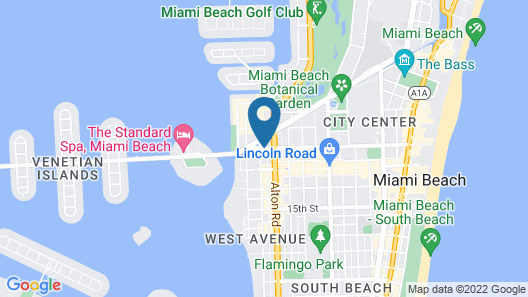 Residence Inn by Marriott Miami Beach South Beach Map