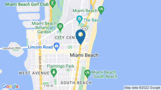 Gale South Beach, Curio Collection by Hilton Map