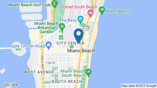 Cadet Hotel Map