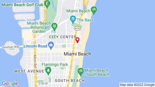 SLS South Beach Map