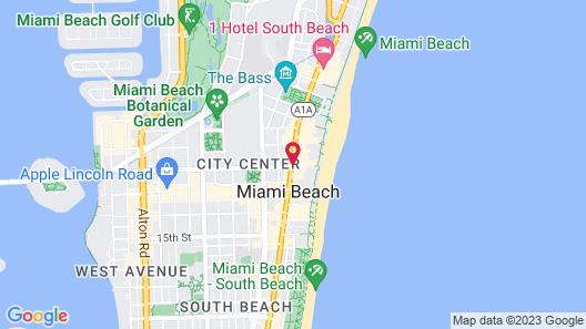 Hampton Inn Miami South Beach - 17th Street Map