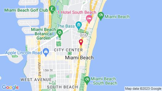 The Redbury South Beach Map