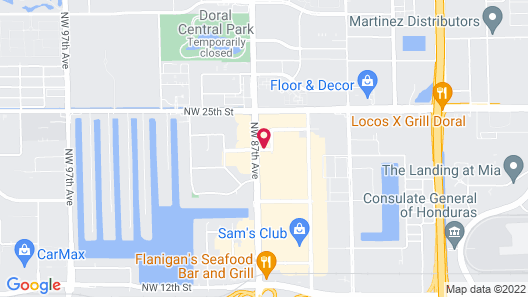 Extended Stay America Suites Miami Airport Doral 87th Ave S Map