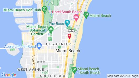 Shelborne South Beach Map