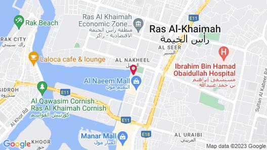 Hilton Garden Inn Ras Al Khaimah Map