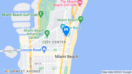 Boulan South Beach Map