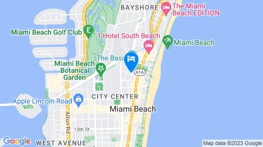 Riviera Hotel South Beach, a South Beach Group Hotel Map