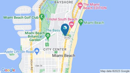South Beach Hotel Map