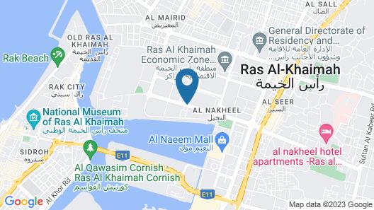 Doubletree by Hilton Ras Al Khaimah Map