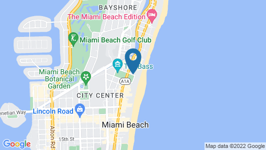 W South Beach Map