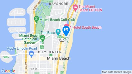 W South Beach Map