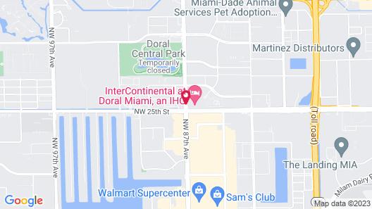 Intercontinental at Doral Miami, an IHG Hotel Map