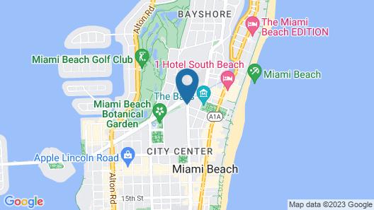 Hotel Belleza Map