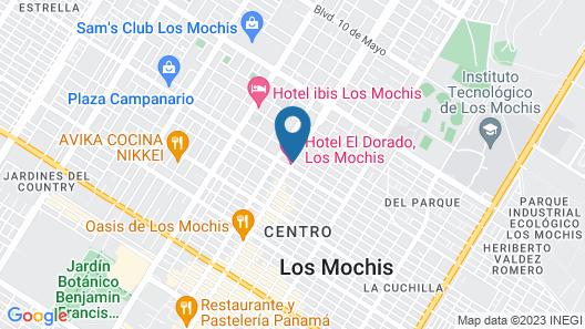 Hotel El Dorado Map
