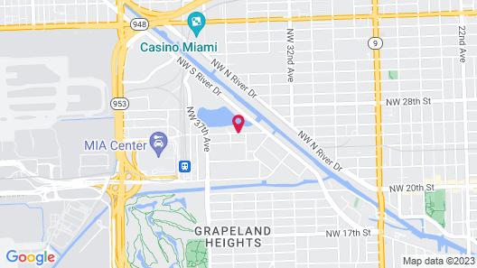 Element Miami International Airport Map