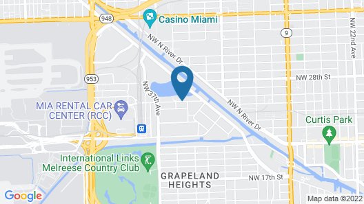 Element Miami International Airport Map