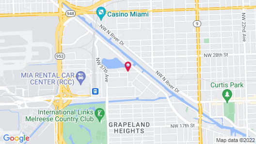 EVEN Hotel Miami - Airport, an IHG Hotel Map