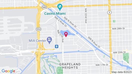Staybridge Suites Miami International Airport, an IHG Hotel Map