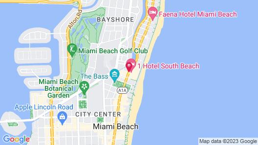 1 Hotel South Beach Map