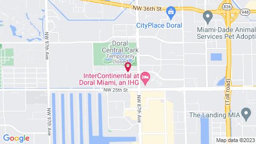 La Quinta Inn & Suites by Wyndham Miami Airport West Map