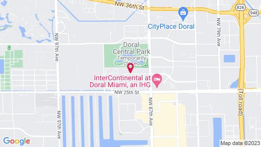 Sonesta Simply Suites Miami Airport Map