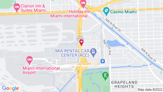 Holiday Inn Express & Suites Miami Airport East, an IHG Hotel Map