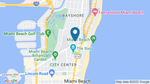 Tradewinds Apartment Hotel, a South Beach Group Hotel Map
