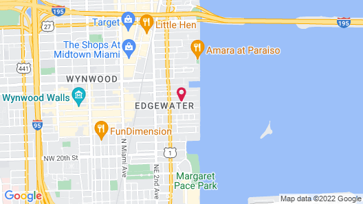 Fortuna House Apartments Map