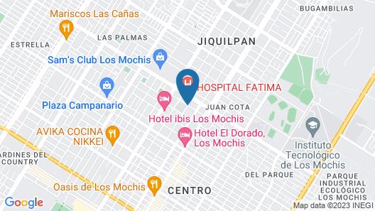 Hotel Suites Fátima Map
