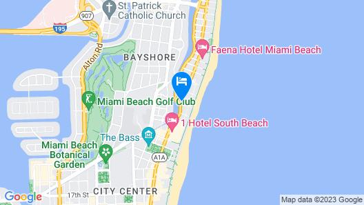 Lorraine Hotel Map