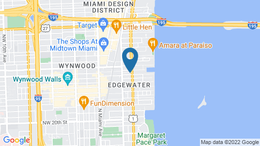 Biscayne Townhomes by Sextant Map