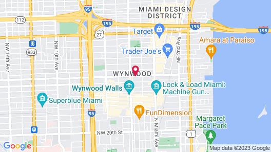 Krym - Studios in Wynwood Map