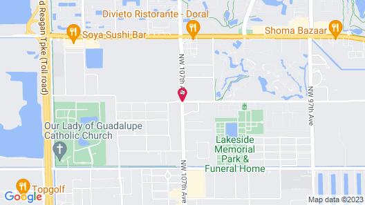 Element Miami Doral Map