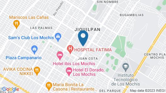 Hotel Posada Los Olivos By Rotamundos Map