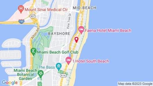 The Miami Beach EDITION Map