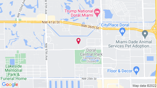 Residence Inn Miami Airport West/Doral Map